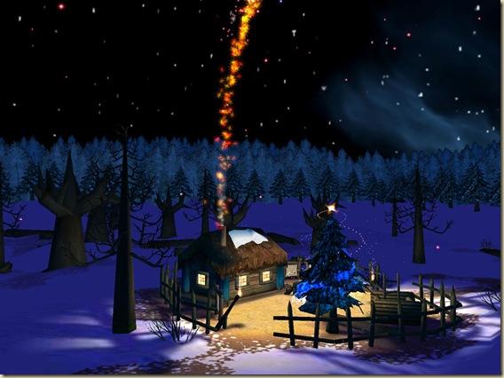 christmas-night-magic-house